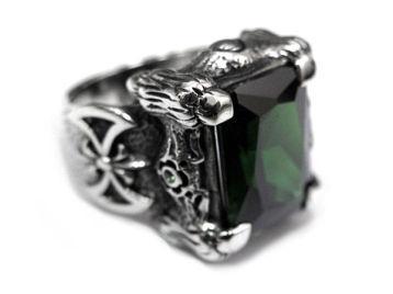 Перстень мужской серебряный TNR22-02